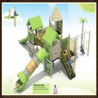 Enjoyable Plastic Outdoor Playgrounds (VS2-2110A) Manufactures