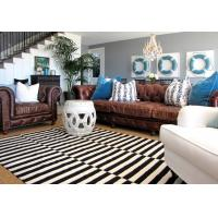 Quality Wholesale White And Black Strip Zebra Carpet Cheap Aera Rugs Of 2017 New Design Residential Rug BV And SGS Certified for sale