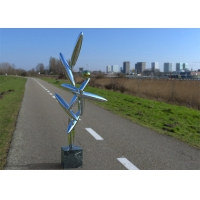 China Contemporary Art Polished Stainless Steel Sculpture Interior Decoration on sale