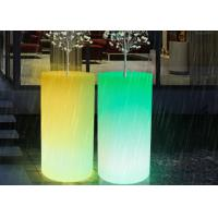 Outdoor Illuminated Rechargealbe LED Flower Pots Vertical Planter Big Size Decorative Vases Manufactures