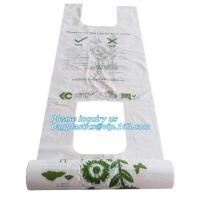 China 100% Biodegradable plant-based shopping bag, charity donation bags for cloths packing, fully biodegradable compostable P on sale