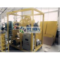 China PLC Automatic Operation Vacuum Oil Filter Machine Multi Stage ZYD-150 9000LPH on sale