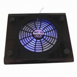 Black ABS Notebook Cooling Fan