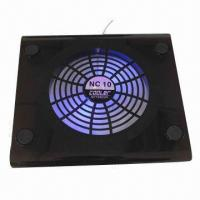 Quality Black ABS Notebook Cooling Fan for sale