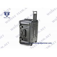 Military Waterproof Convoy Vehicle Bomb Jammer Full Band Frequency RF GPS Cell Phone Signal Jammer Manufactures