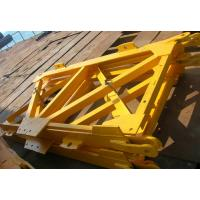 China Q345B Steel tower Crane Spare Parts Mast Section For conehead tower crane on sale
