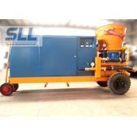 Tunnel Mobile Shot Concrete Machine For 20mm Aggregate High Efficient Manufactures