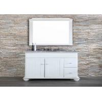 China Granite Custom Bathroom Countertop Long Durability White Extraordinary Design on sale