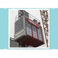 Construction Passenger And Material Hoist / Rack & Pinion Elevator Manufactures