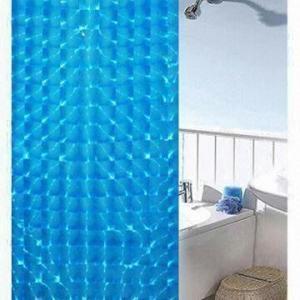 Plastic PEVA Shower Curtain Film, Eco-friendly, Biodegradable, Non-toxic