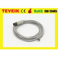 China Pediatric Rectal low cost temperature sensor With Round 2 Pin medical temperature probe on sale