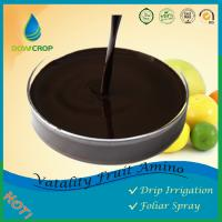 DOWCROP Hot Sale VATALITY FRUITS  AMINO CALMODULIN LIQUID 100%High Quality Dark Brown Liquid Origin Amino Acid Manufactures