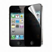 Privacy Screen Protector, Ideal for iPhone 4S Manufactures