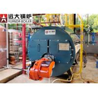 China 6Ton Fire Tube Boiler Low Pressure 3 Pass High Efficiency Steam Boiler on sale