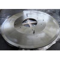 Hollow ground hot cutting circular saw blade for cutting hot rolled H beam Manufactures