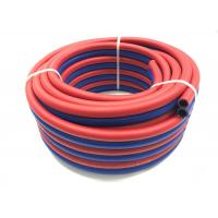 China Natural PVC Rubber Air Hose , Twin Welding Hose For Convey Oxygen Acetylene on sale