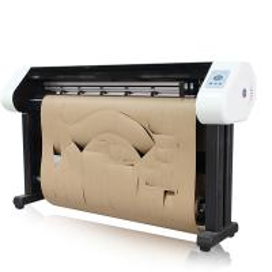 80Kg Paper Pattern Cutting Plotter , Digital Printer Plotter Cutter Manufactures
