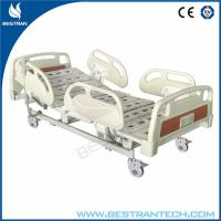Individual Brakes Electric Medical Hospital Beds With 10 - part Bedboard Manufactures