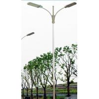 China China factory wholesale stainless steel light pole with base plate for sale