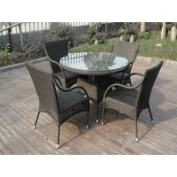 Leisure Rattan Garden Dining Sets Patio For Home / Restaurant Manufactures