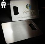 Metal Beer Bottle Opener Business Card ,  Poker Card Bottle Opener  Promotional Manufactures