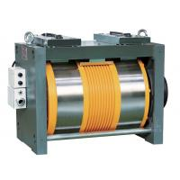 China Ø410 Gearless Elevator Traction Motor With Converter 3 Phase 400V 1600kg on sale
