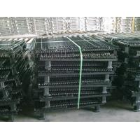 China Stackable Convenient Wire Mesh Container Unload Wire Container Storage Cages on sale