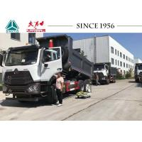 China HOWO Light Weight E7G 16CBM Dump Truck With Euro IV Engine For Peru on sale