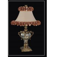 China Decorative meeting room 110volt Luxurious Table Lamps with button / dimmer switch on sale