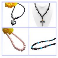 Magnetic Hematite Necklace With Cross Manufactures