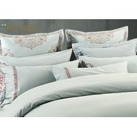 King Size  Poly / Cotton Jacquard Bedding Set Mixed Designs For Hotel Manufactures