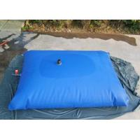 Square Shape Uv Resistance Water Storage Tanks / PVC Hydraulic Water Bladder Manufactures