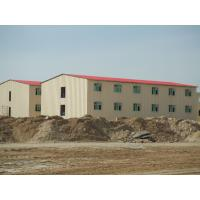 Low Cost Prefab Commercial Buildings / Energy Saveing Prefab Metal Building Manufactures