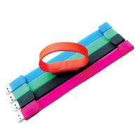 Fashion Silicone USB bracelets with various capacity Manufactures