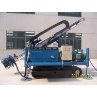 Great Torque Portable Drilling Rigs , Crawler Drilling Machines Manufactures