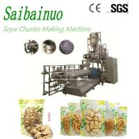 China Textured Vegetable Meat Soya Protein Chunks Food Making Machine on sale