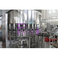 Industrial Monoblock Filling Machine Semi Automatic Soft Drink Bottling Equipment Manufactures