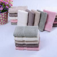 China 100% Cotton High End Luxury Home&Hotel Plain Dyded  Bath Towel Face Towel Hand Towel Towel Set on sale