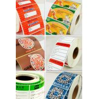 customized Printed Thermal self adhesive label sticker Manufactures