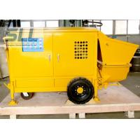 Easy Operation Small Shotcrete Pump For Grouting Pump Spraying 7-15 M3/H Output