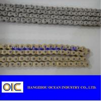 40MN/A3 Copper Coating Motorcycle Chains With Extremely Durable Performance Manufactures