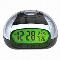 LCD Talking Alarm Clock in Different Languages for Option Manufactures