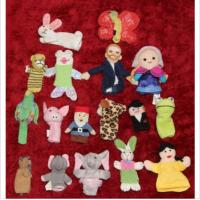 17 Finger Plush Hand Puppets Pottery Barn With Kids Restoration Hardware / LB Kids Crochet Manufactures