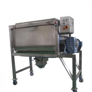China Salt / Sugar Industrial Ribbon BlenderFor Mixing Powders, Fast Spiral Ribbon Mixer on sale