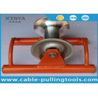 Straight Line Cable Tray Roller , Trench Roller With Aluminum Wheel Manufactures