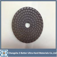 6 inch White Waffle buffing polishing pad for car polisher Manufactures
