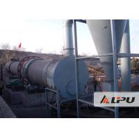China 11kw Industrial Rotary Drum Dryer Machine for Clay Kaolin Wood Shavings on sale