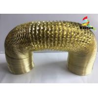 Aluminum Foil Ventilation Flexible Ducting Insulated Stretchable For HVAC Systems Manufactures