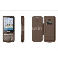 Brown dual sim card phone  , bar cell phone with 850Hz / 900Hz / 1800Hz / 1900MHz Manufactures