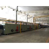 Conduction Oil Heating Digital Printing Equipment Finishing Production Line For Carpet Manufactures